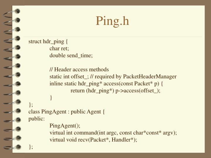 Ping.h