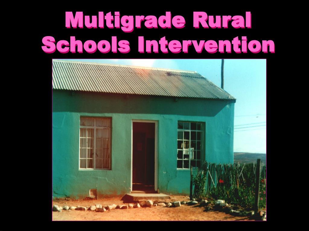 Multigrade Rural