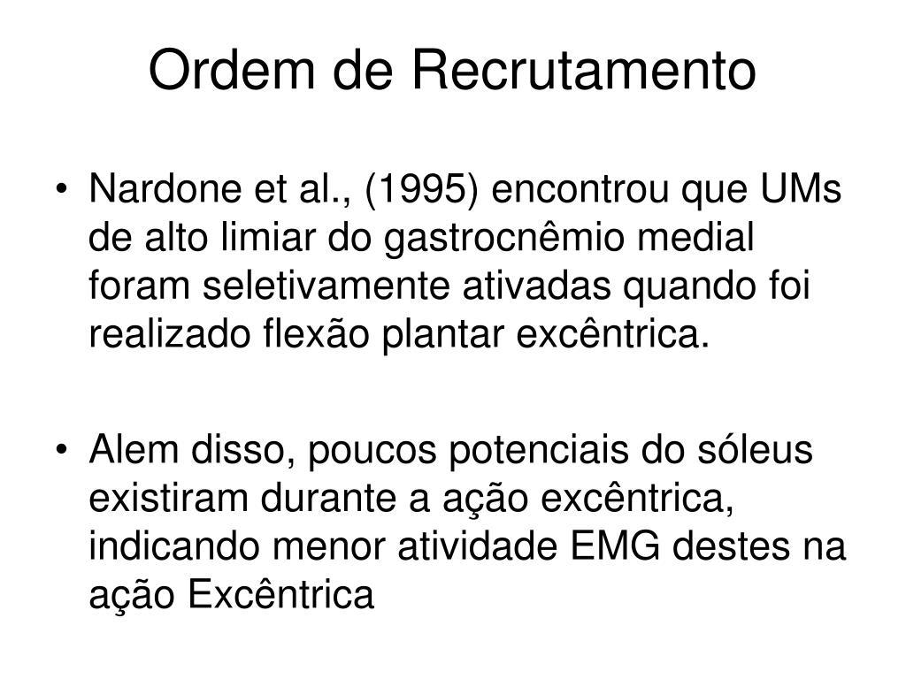 Ordem de Recrutamento