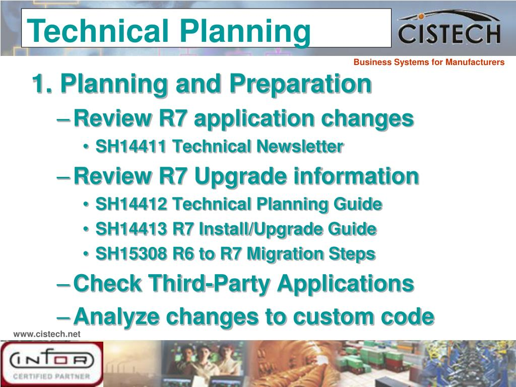 1. Planning and Preparation