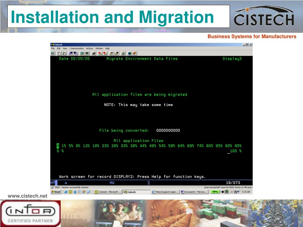 Installation and Migration