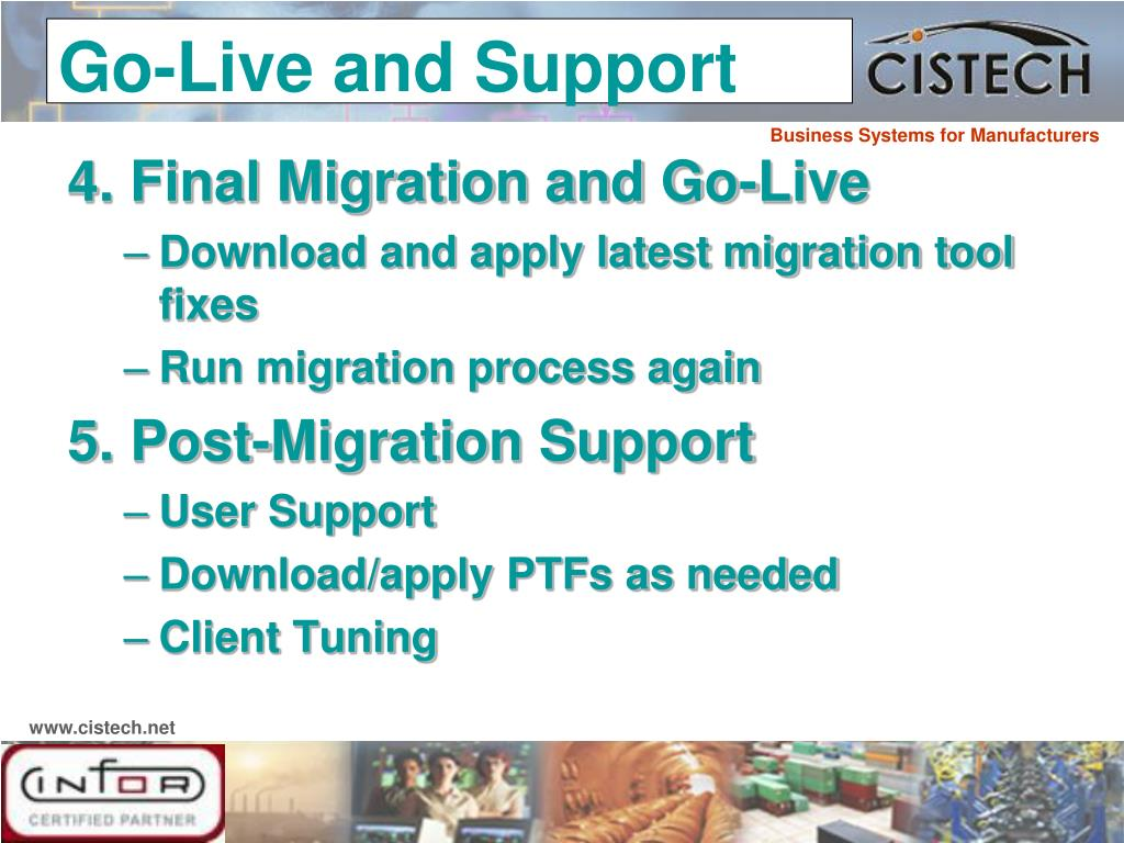 4. Final Migration and Go-Live
