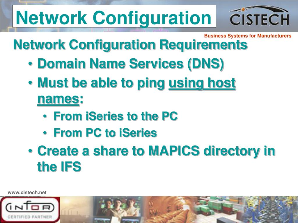 Network Configuration Requirements