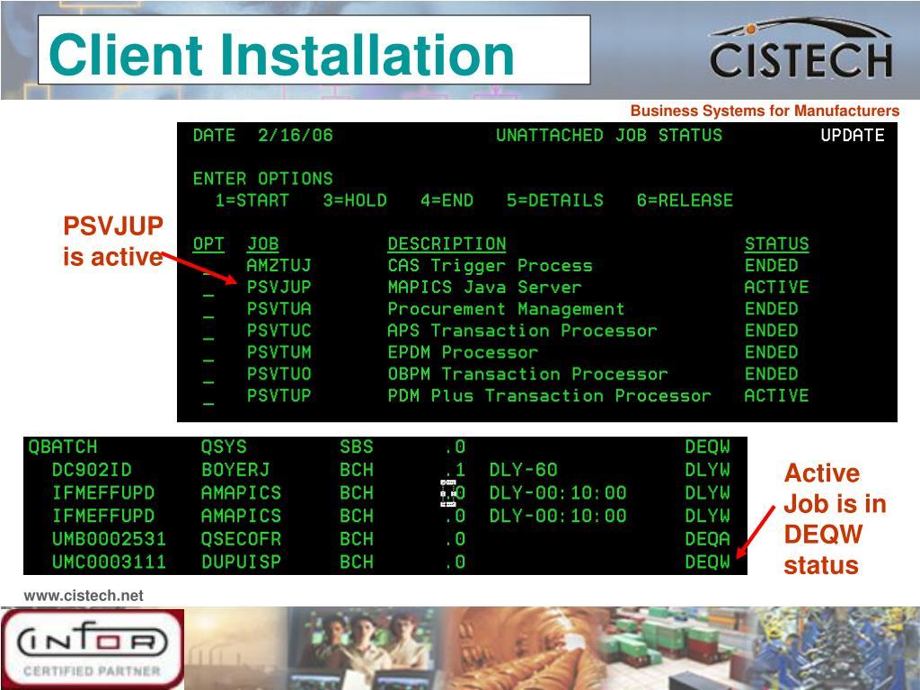 Client Installation