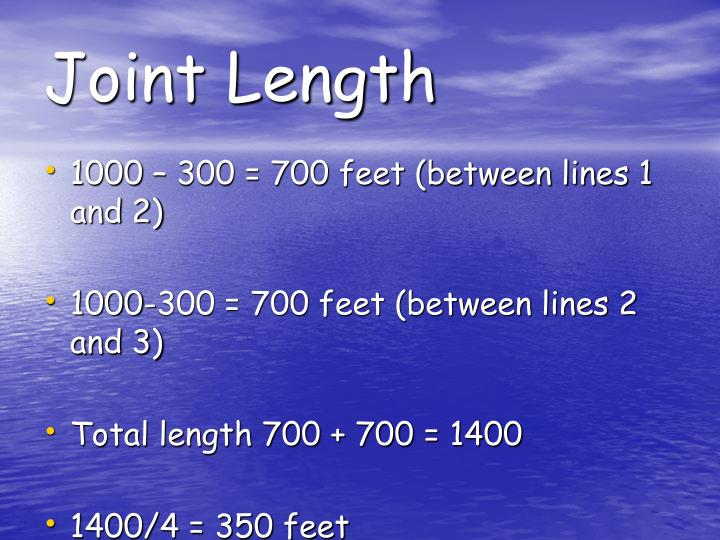 Joint Length