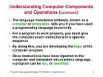 understanding computer components and operations continued3