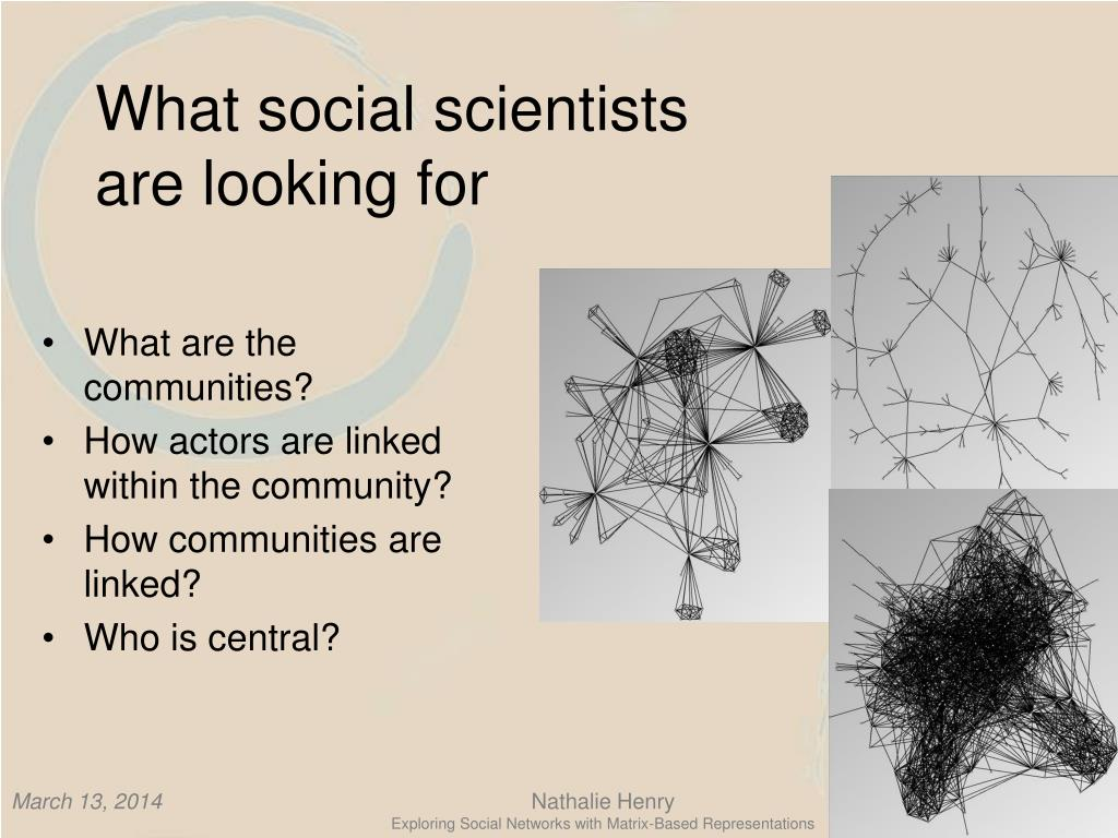 What social scientists