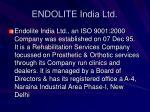 endolite india ltd