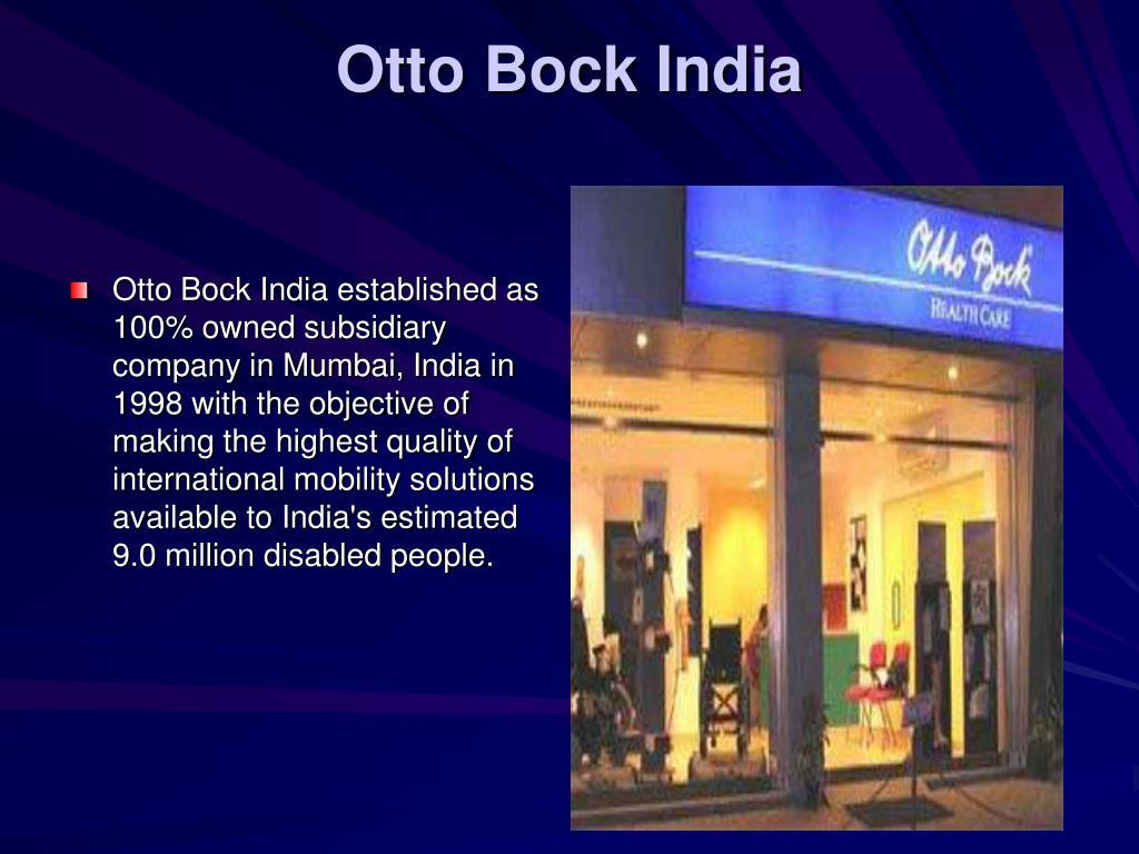Otto Bock India