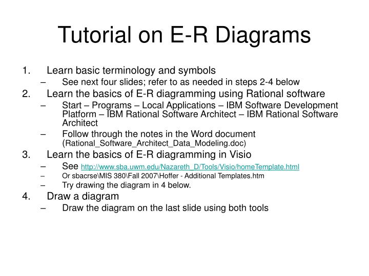 Tutorial on e r diagrams l.jpg