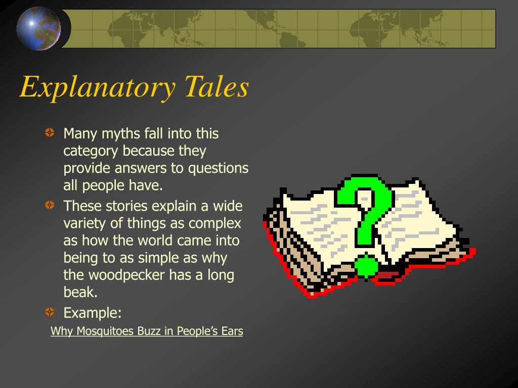 Explanatory Tales