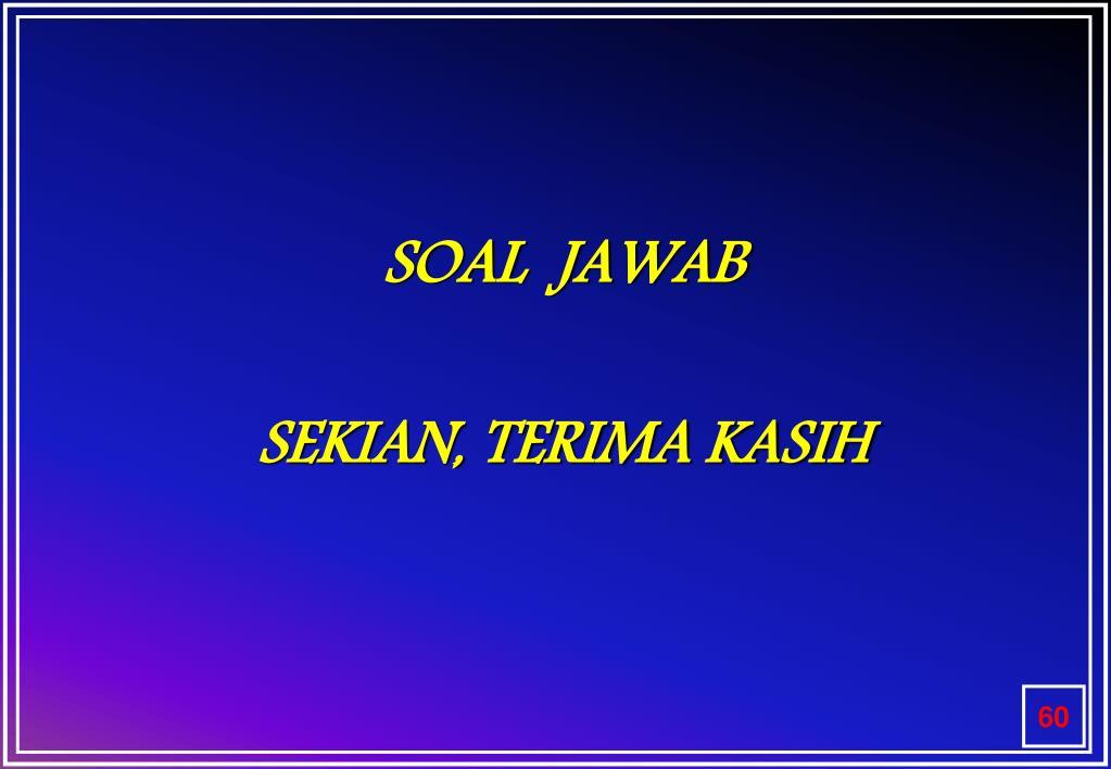 SOAL  JAWAB