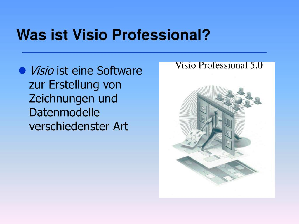 Was ist Visio Professional?