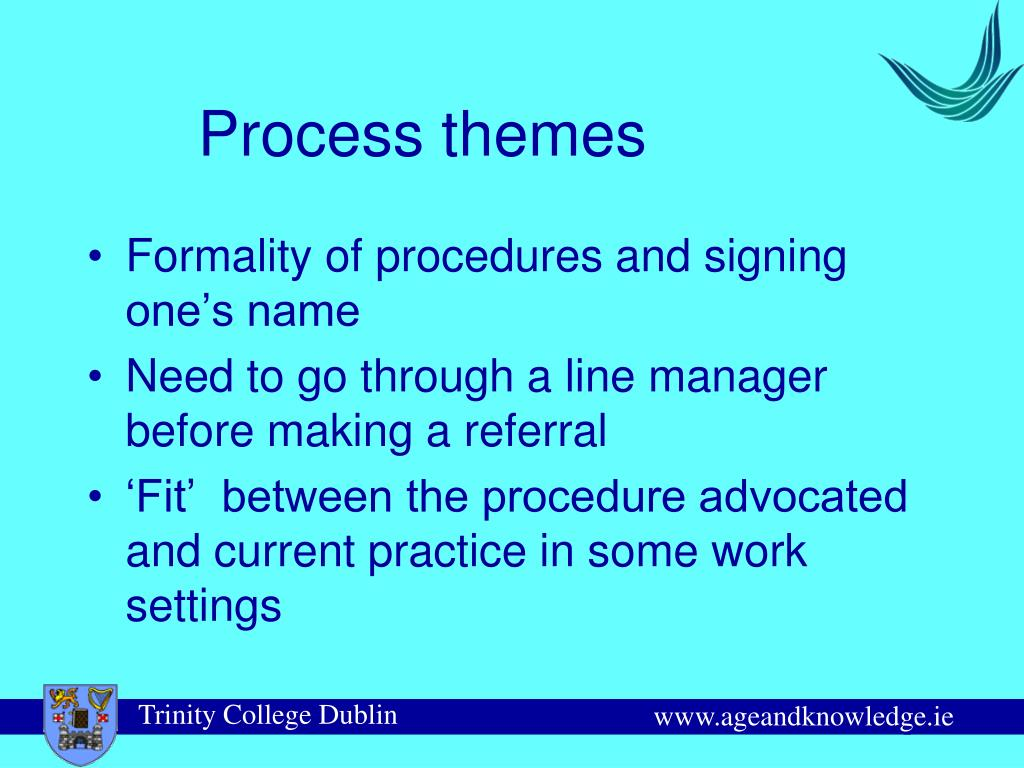 Process themes