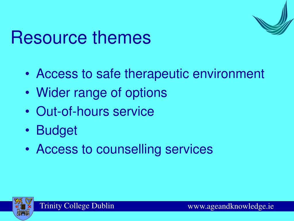 Resource themes