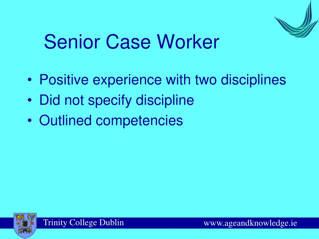 Senior Case Worker