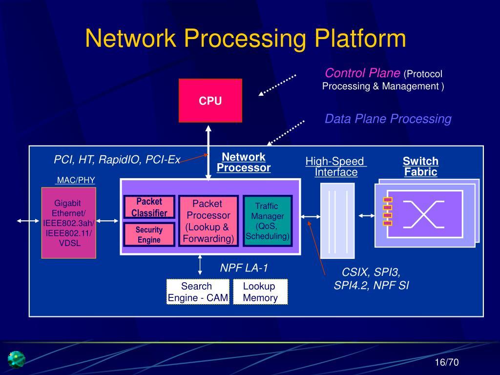 Network Processing Platform