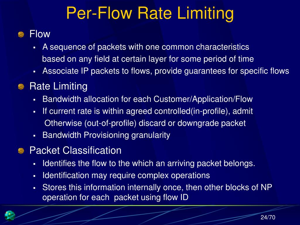 Per-Flow Rate Limiting