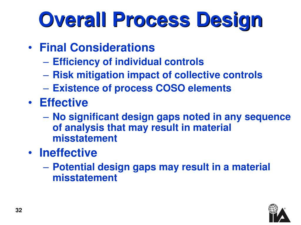 Overall Process Design