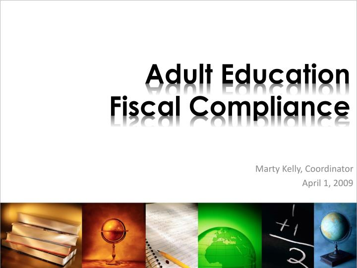 Adult education fiscal compliance