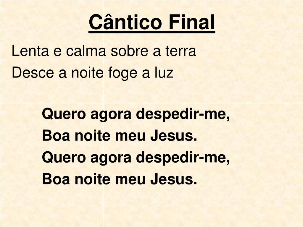 Cântico Final