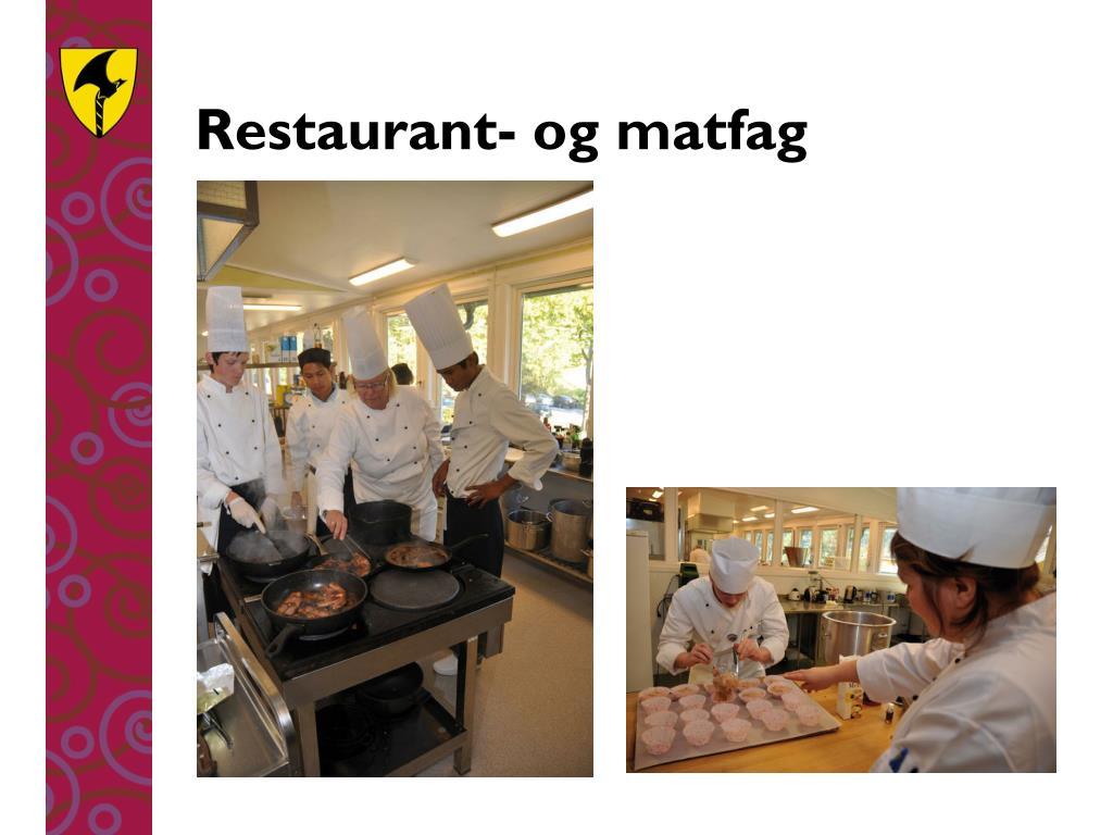 Restaurant- og matfag