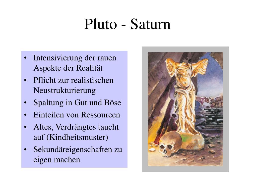Pluto - Saturn