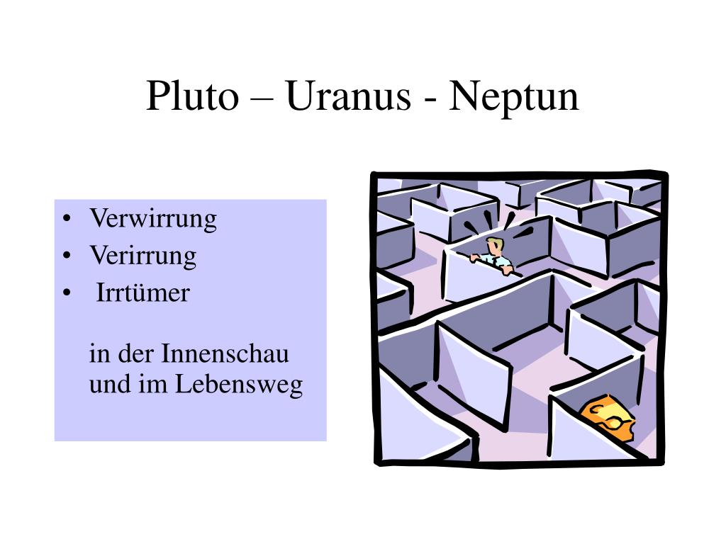 Pluto – Uranus - Neptun