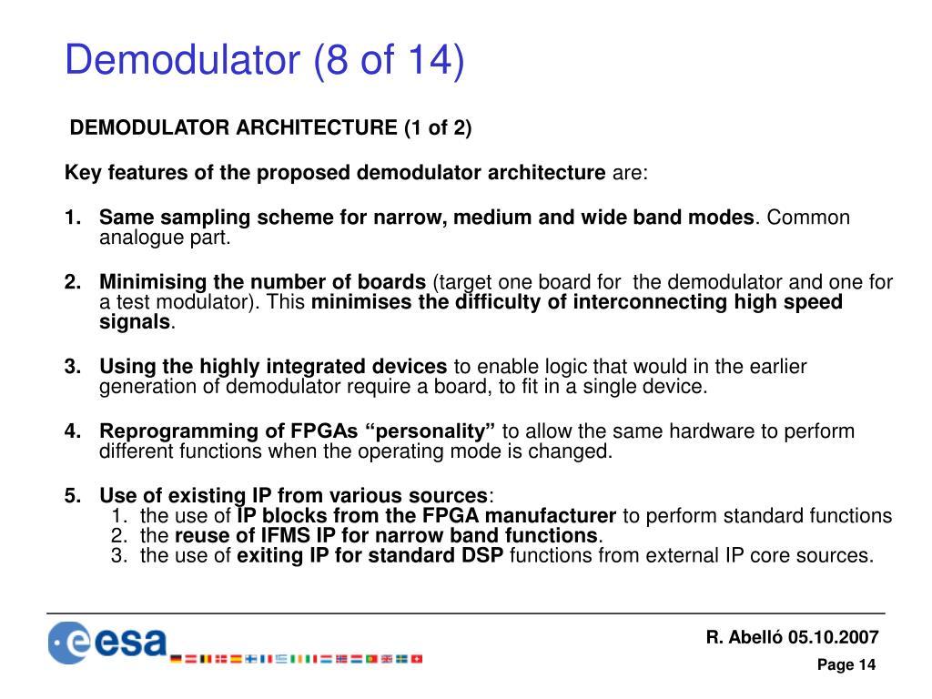 Demodulator (8 of 14)