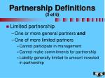 partnership definitions 3 of 5