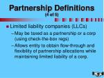 partnership definitions 4 of 5