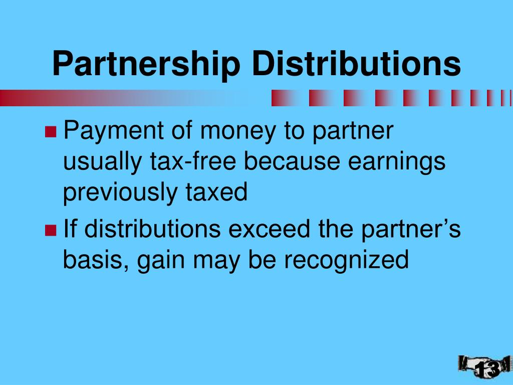 Partnership Distributions