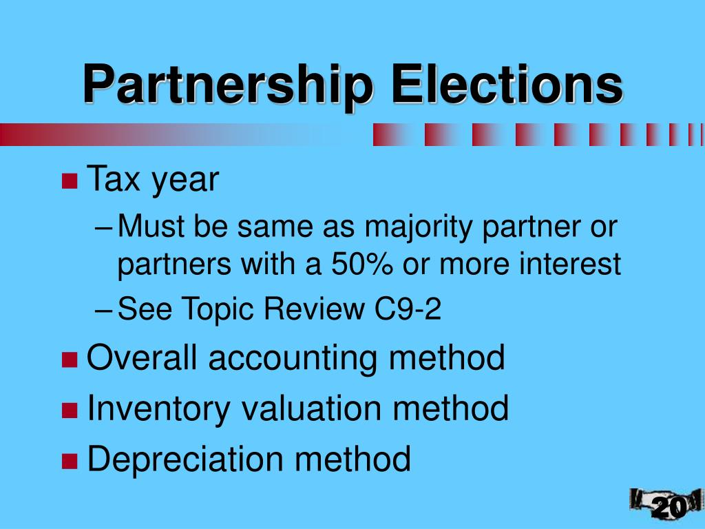 Partnership Elections