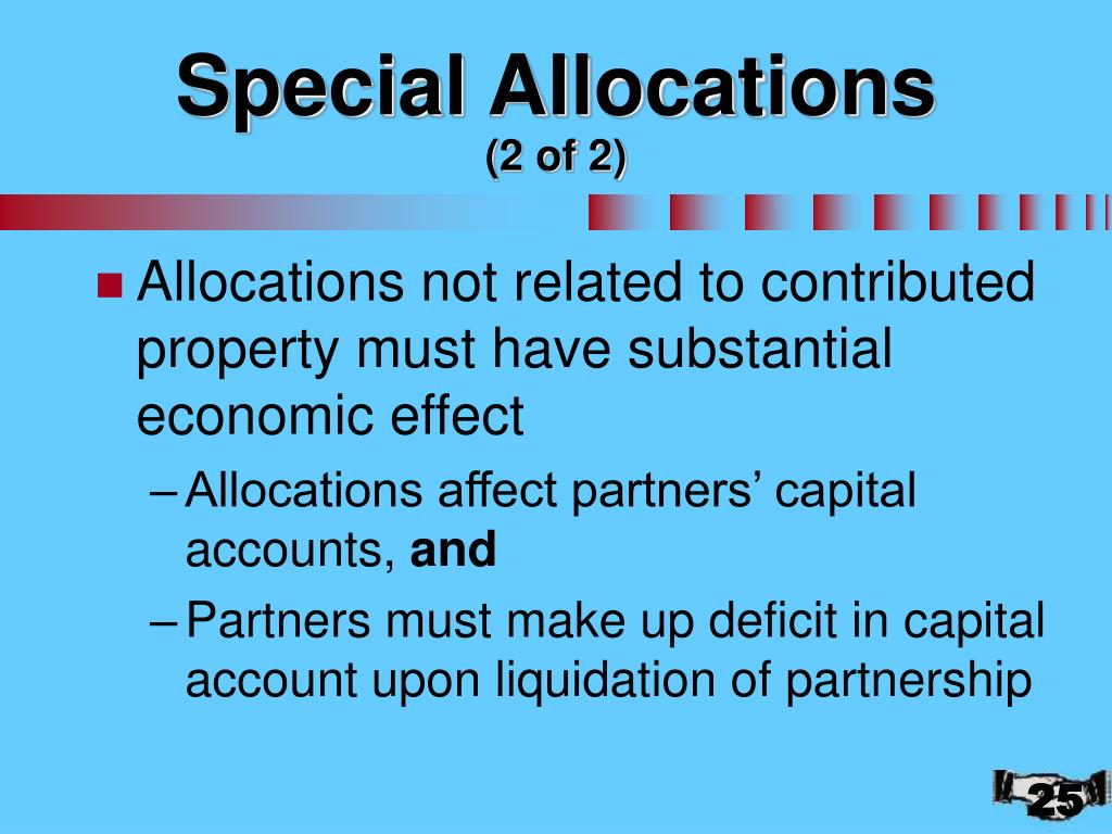 Special Allocations