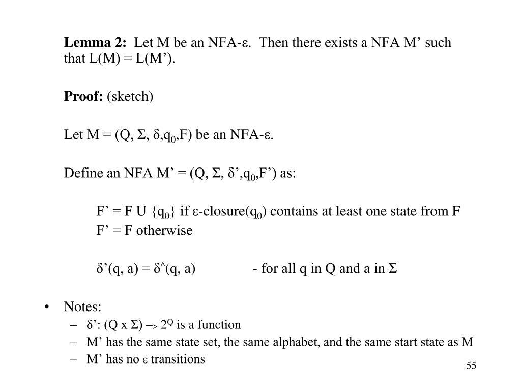 Lemma 2: