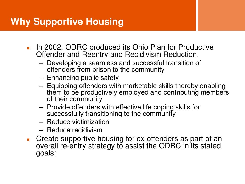 Why Supportive Housing