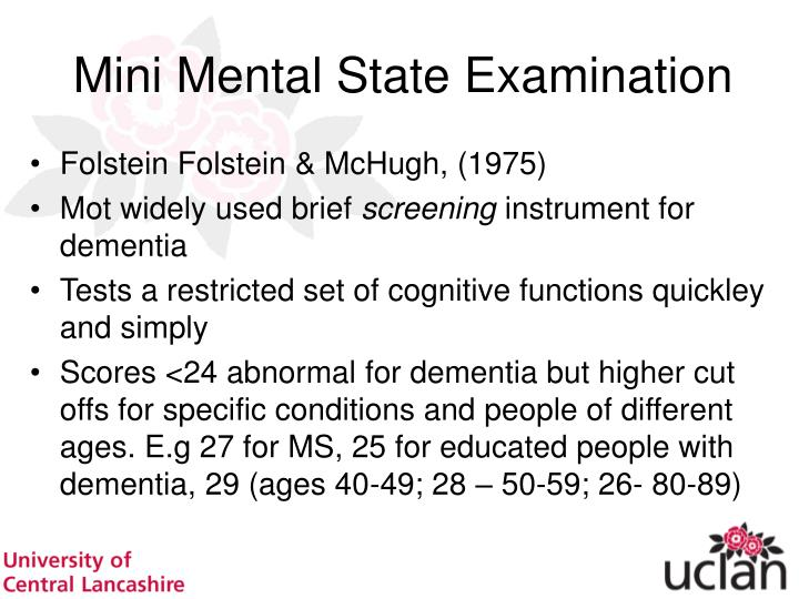 Cognitive Tests For Driver Screening Kate Radford PhD, MSc PowerPoint Presentation
