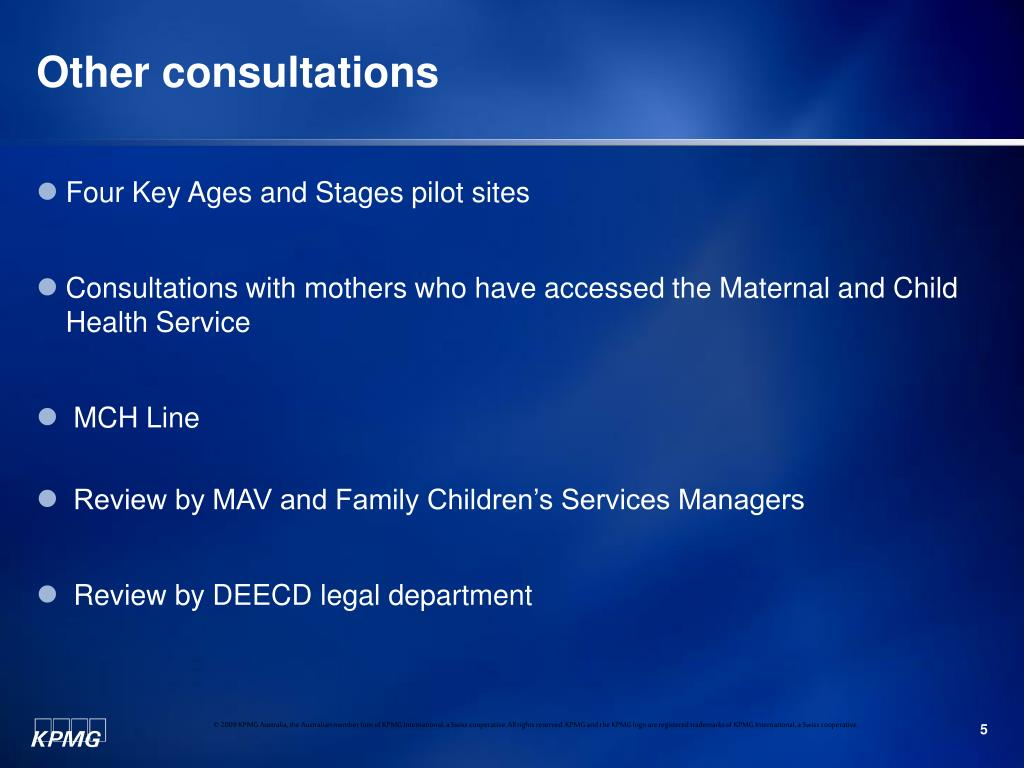 Other consultations