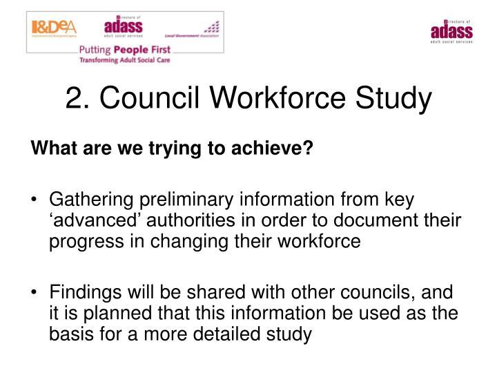 2. Council Workforce Study