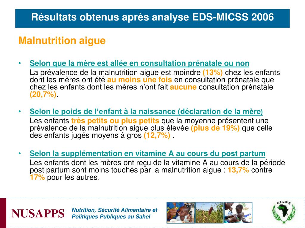Malnutrition aigue