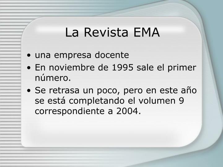 La Revista EMA