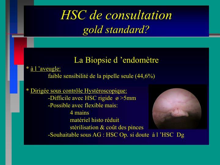 HSC de consultation