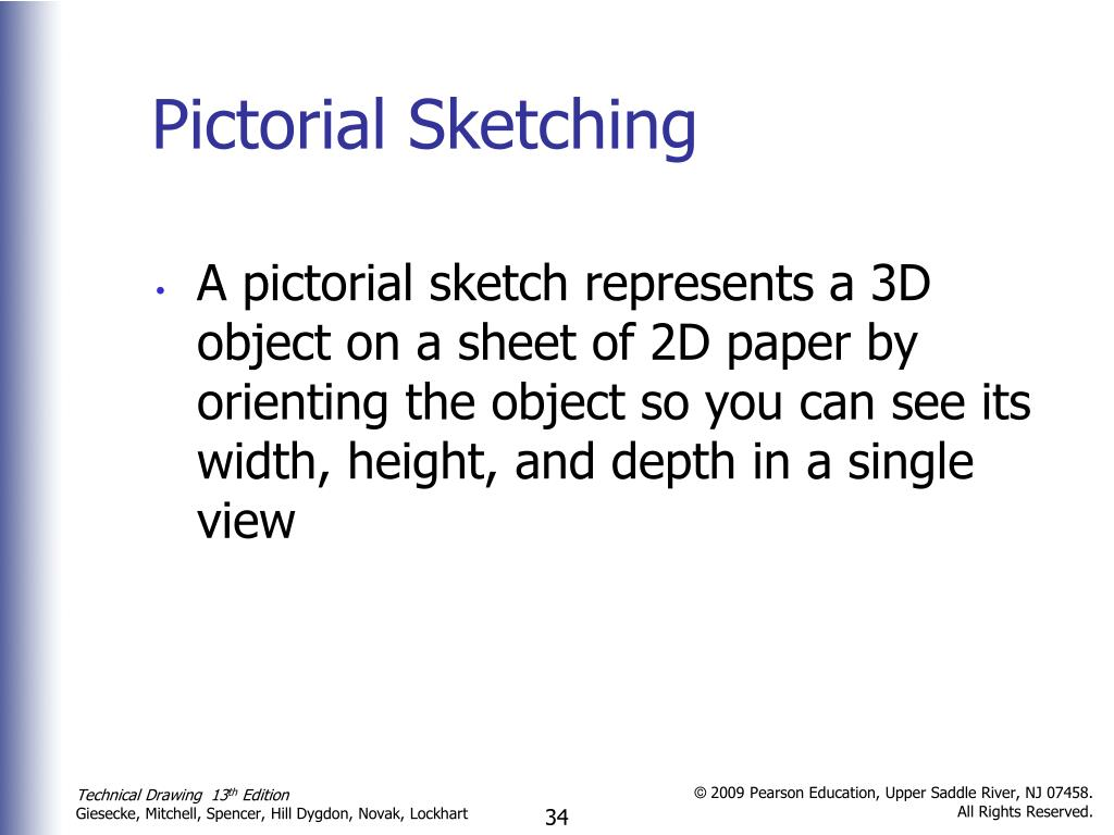 Pictorial Sketching