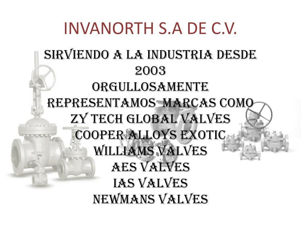 INVANORTH S.A DE C.V.
