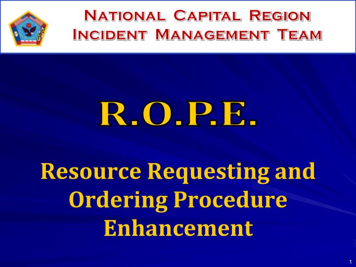 Resource requesting and ordering procedure enhancement l.jpg