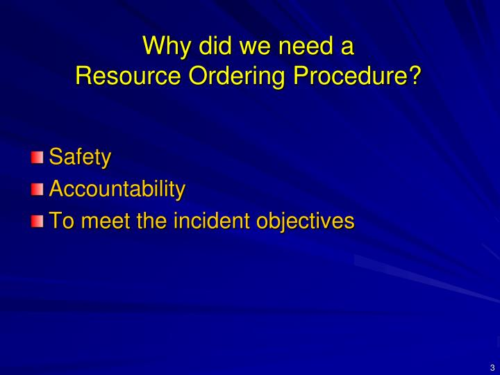 Why did we need a resource ordering procedure3 l.jpg