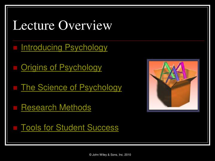 Lecture overview l.jpg