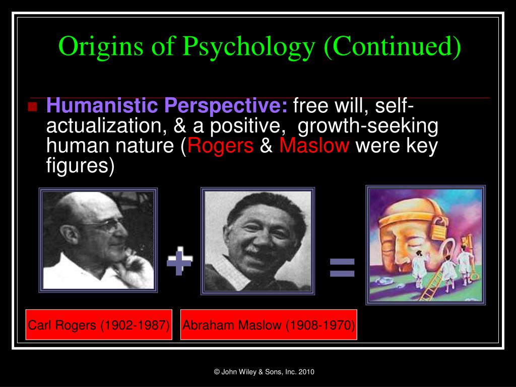 Origins of Psychology (Continued)