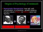 origins of psychology continued15