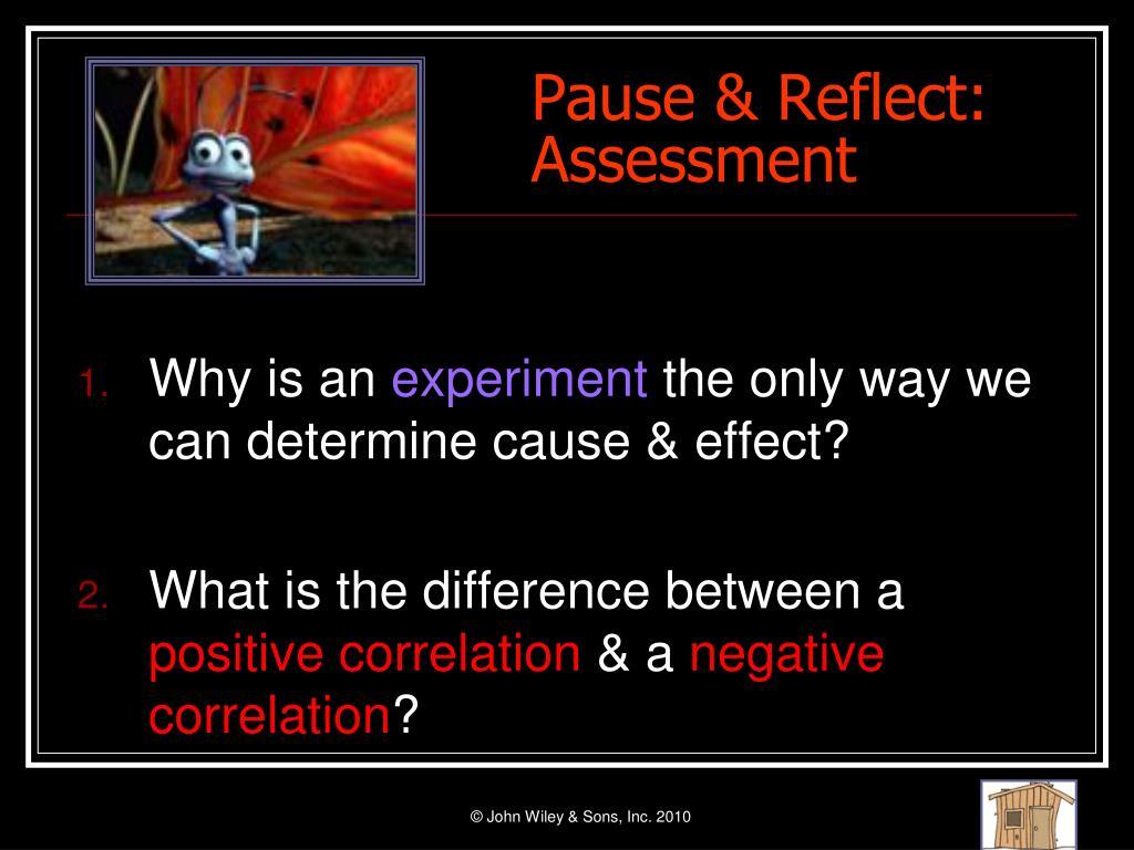 Pause & Reflect: